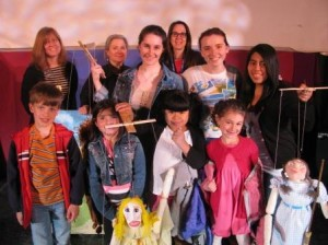 """Wizard of Oz"" puppet production by Hendrick Hudson High School Art students"