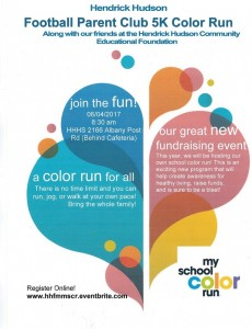 HHCEF Color Run flyer