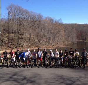 HHHS Mountain Biking Club at Blue Mountain Reservation